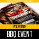 BBQ Event Flyer Template