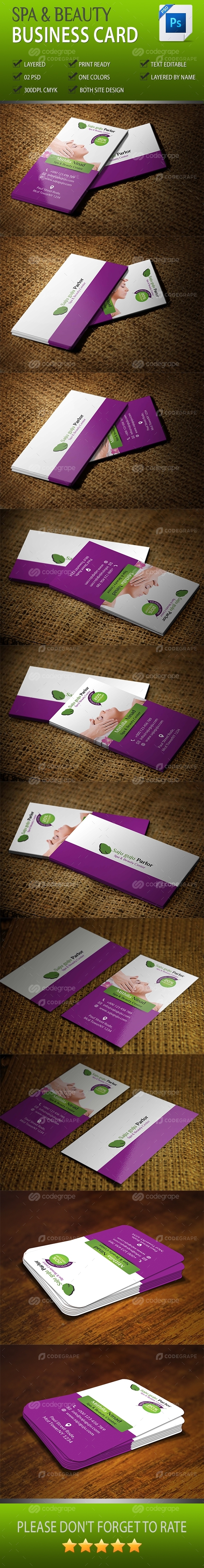 Spa And Beauty Business Card Vol-03