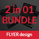 Fashion Flyer Bundle 2 in 1