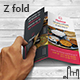 Indian Restaurant Z fold Brochure