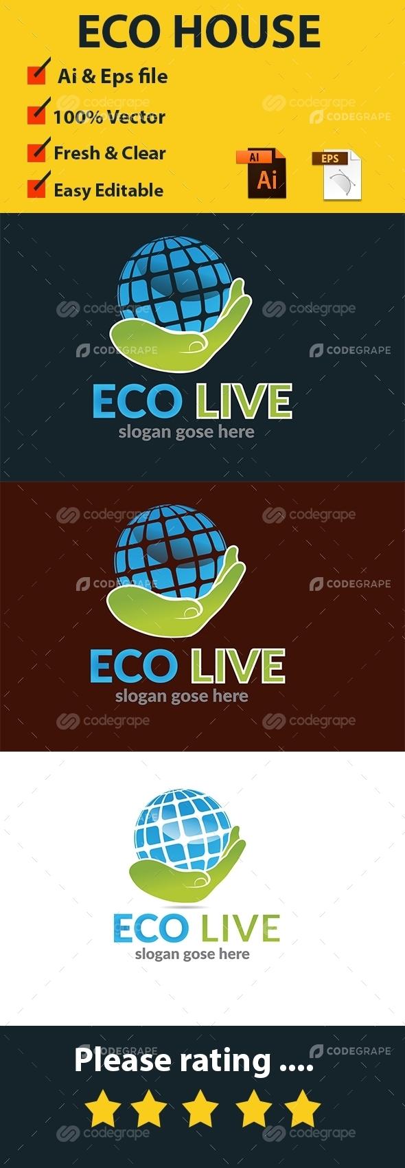 Eco Live Logo