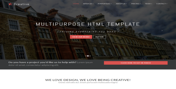 Create - Multipurpose One Page Theme
