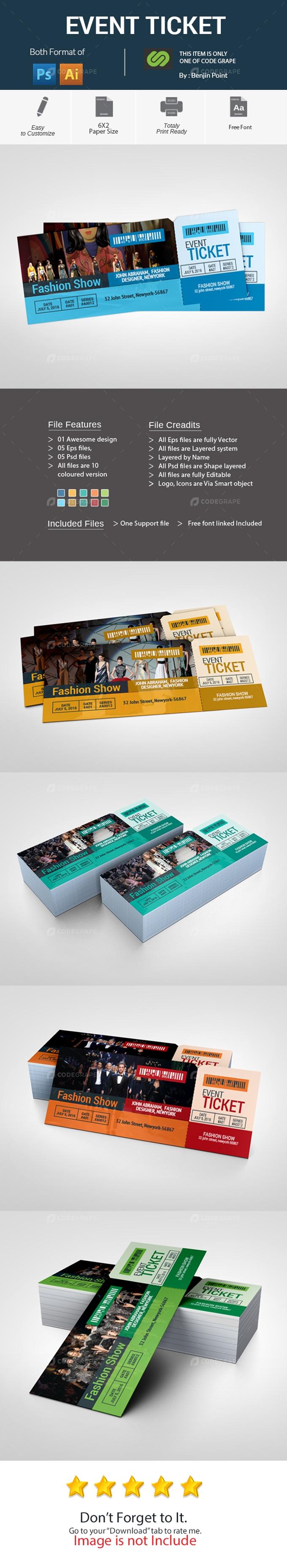 Event Ticket/VIP Pass