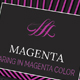 Elegant Creative Business Card-Magenta