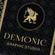 Elegant Creative Business Card - Demonic