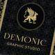 Elegant Creative Business Card – Demonic