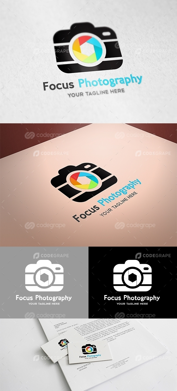 Focus Photography Logo