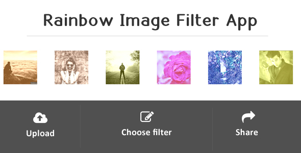 Rainbow - Image Filter Web Application