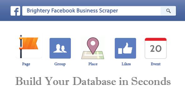 Brightery Facebook Business Scraper