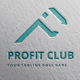 Profit Club P Latter Logo