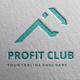 Profit Club P Latter Logo