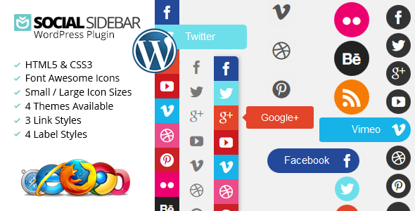 Social Sidebar WordPress Plugin