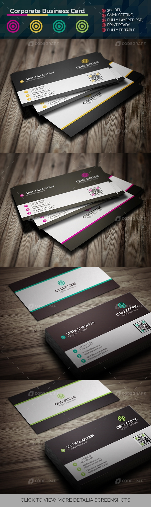 Corporate Business Card Vol.2