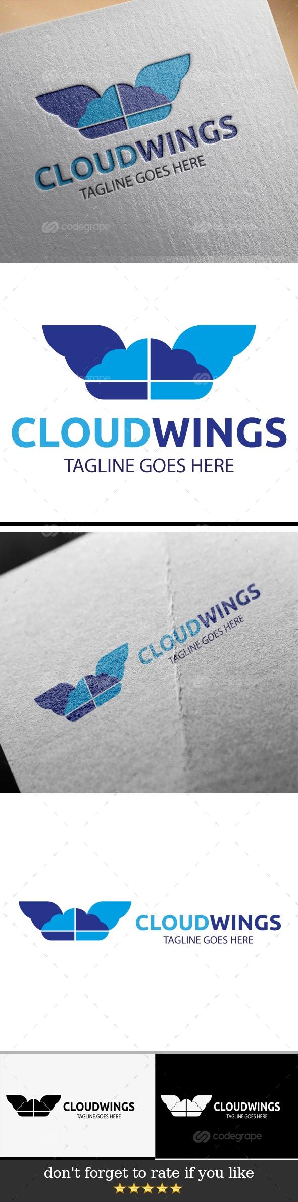 Cloud Wings Logo