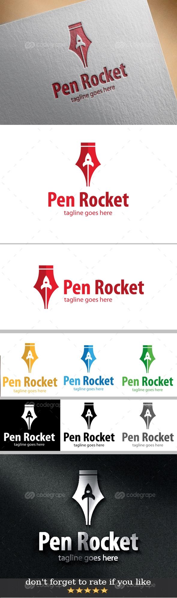 Pen Rocket Logo