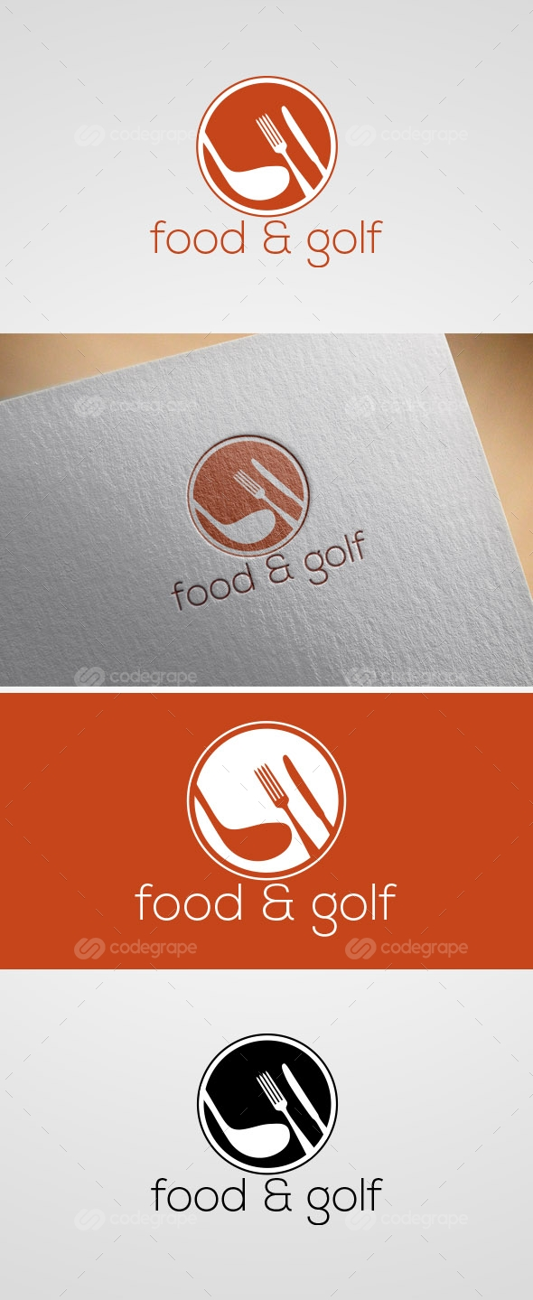 Food & Golf Logo