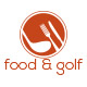 Food & Golf Logo