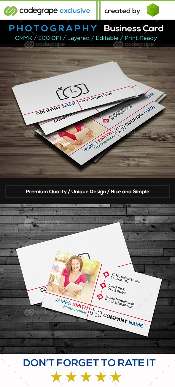Photography Business Card v1