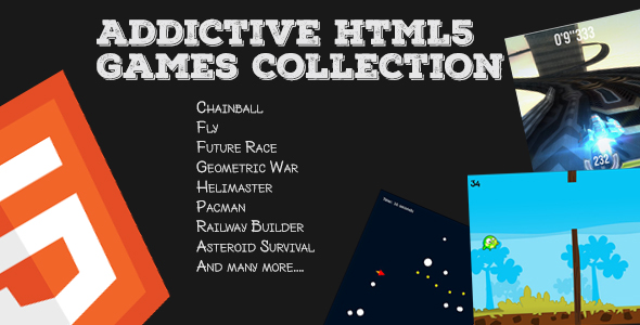 Addictive HTML5 Games Master Collection
