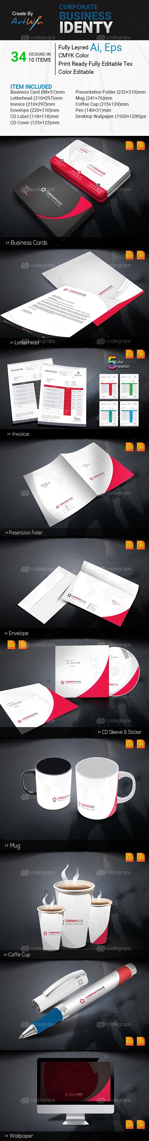 Corporate Business Identity