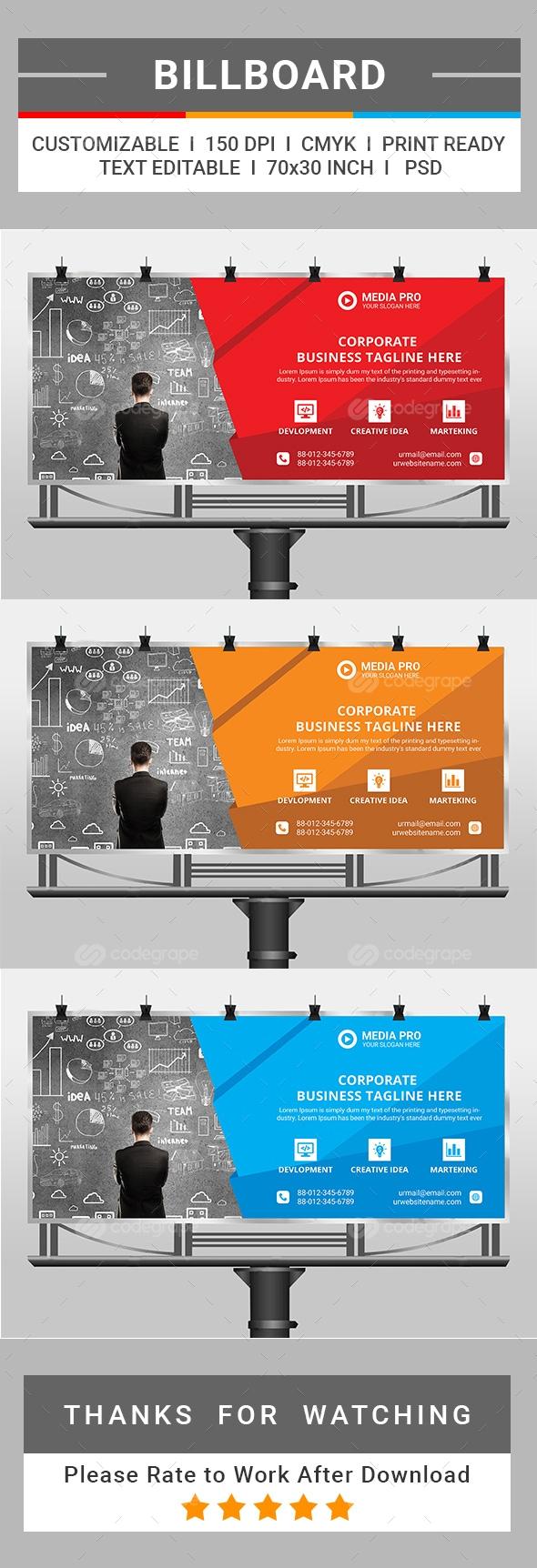 Corporate Billboard