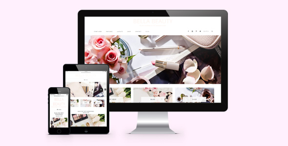 Bella Beauty Feminine WordPress Genesis Theme