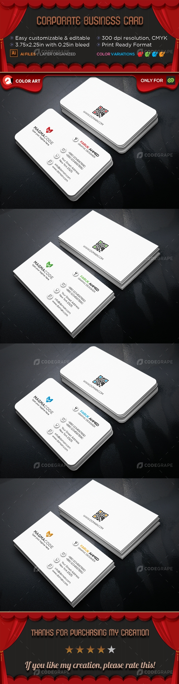 Corporate Business Card V.11