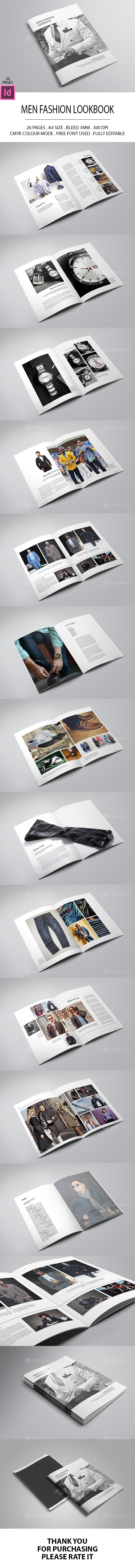 Men Fashion Lookbook