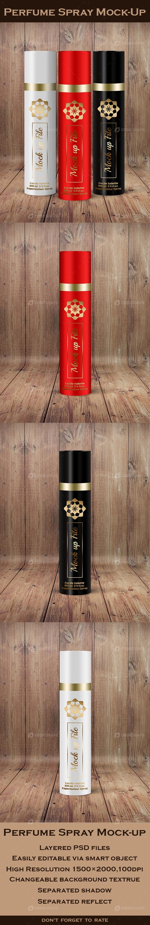 Perfume Spray Mock-Up