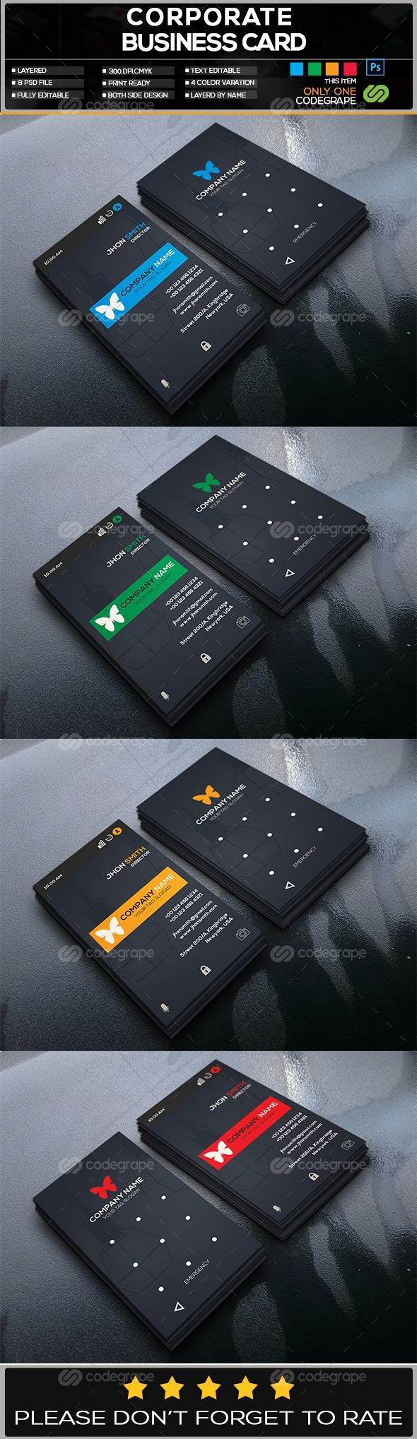 Smart Lock Business Card