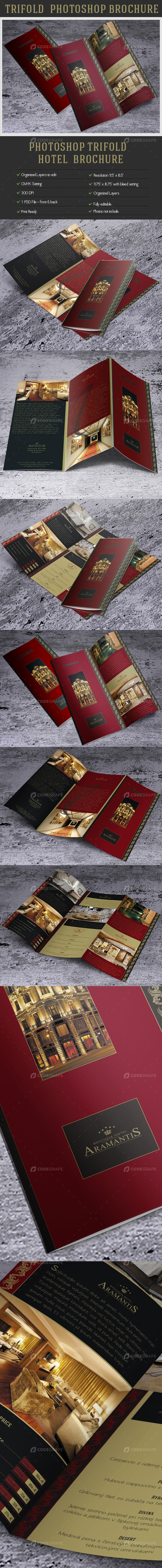 Creative Photoshop Template TriFold Brochure