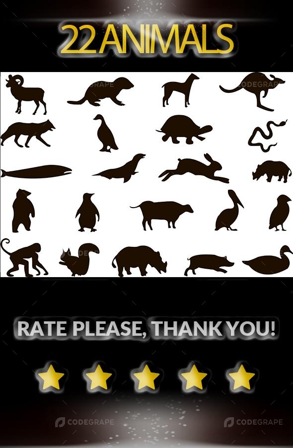 22 Animals Icon