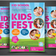 Junior School Education Flyers Templates