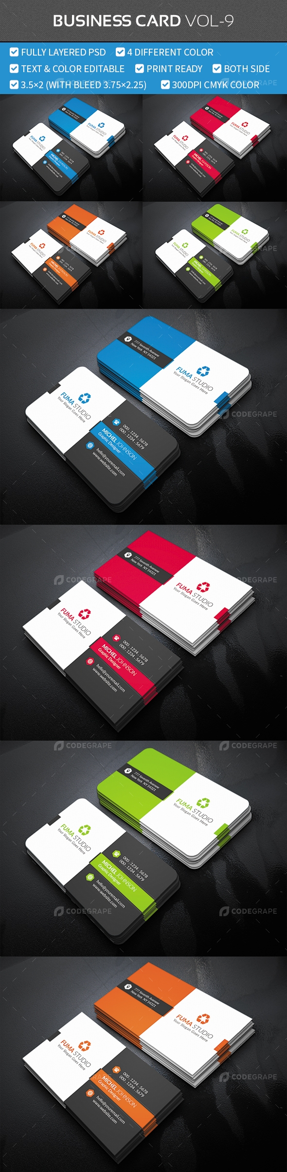 Business Card Vol-9