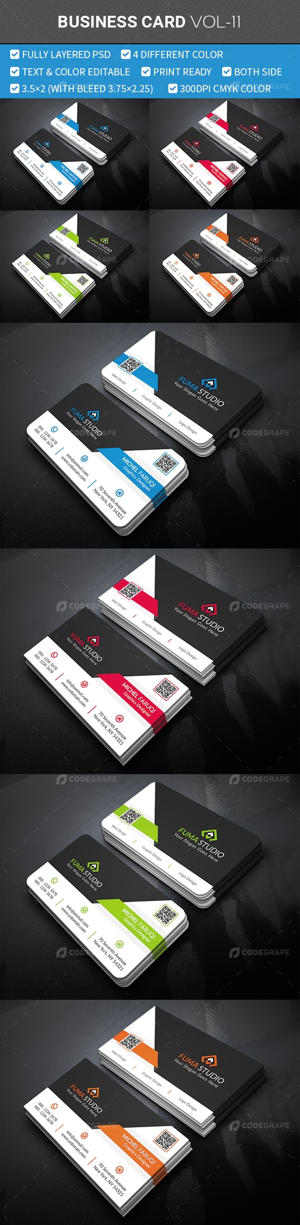 Business Card Vol-11
