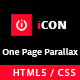 iCon - One Page Parallax