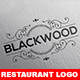 BLACKWOOD Restaurant Logo