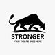 Angry Lion Logo