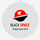Space Rocket Logo