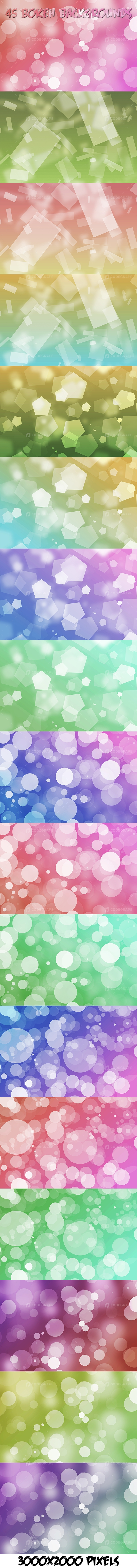 45 Bokeh Backgrounds