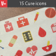 Set 15 Medical Icons