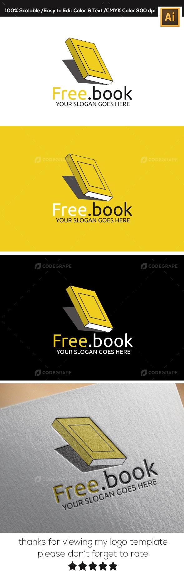 Free Book Logo