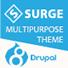 Surge Multipurpose Responsive Drupal 8 Theme