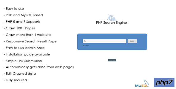 PHP Search Engine - MySQL based Simple Site Search