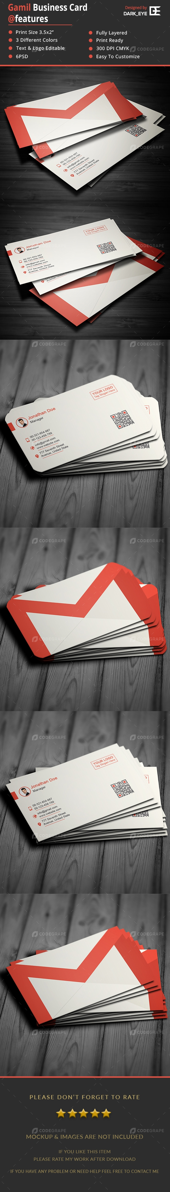 Gmail Business Card Vol.2