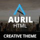 Auril - Creative One Page Template
