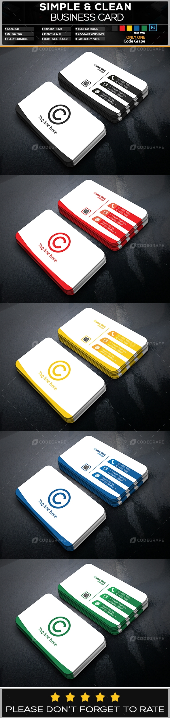 Business CardC