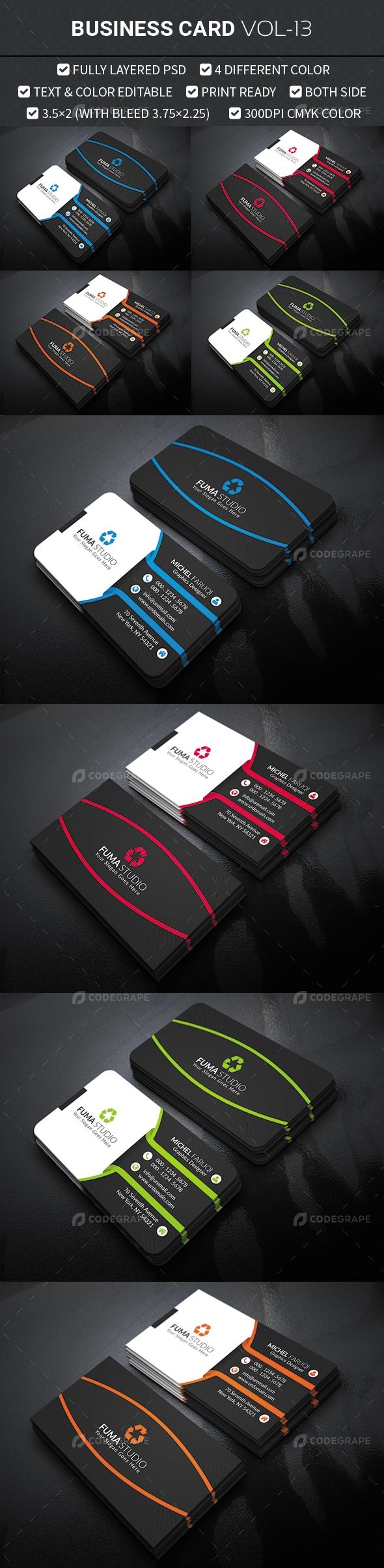 Business Card Vol-13