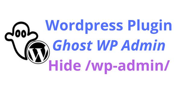 Ghost WP Admin
