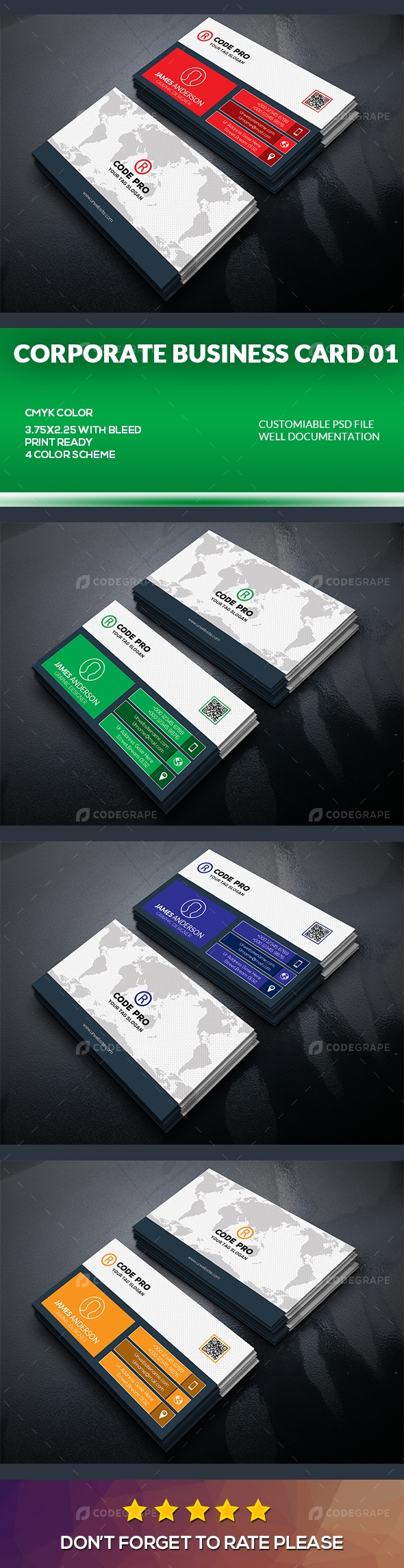 Corporate Business Card 01